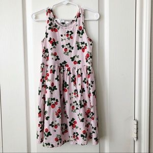 H&M girls strawberry dress.